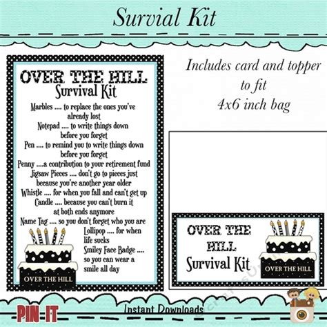hill survival kit cup craftsuprint