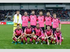 PRETTY IN PINK? SCOTS WEAR AWAY KIT FOR CRUCIAL SLOVAKIA