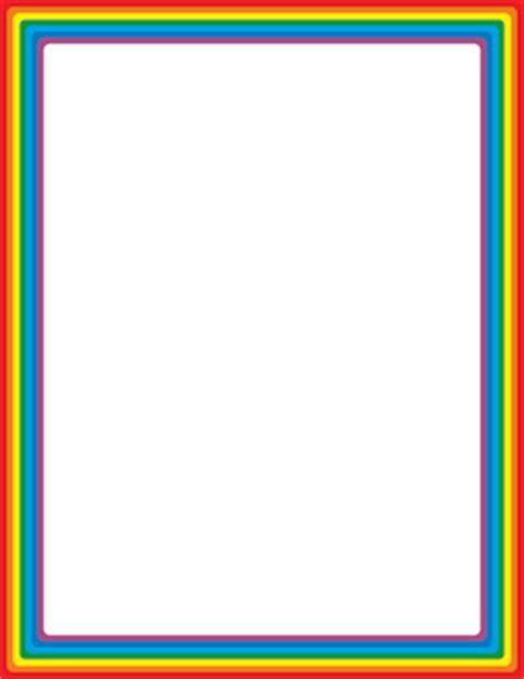bracket frame border clip art page border  vector