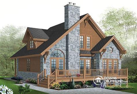 images  plan de chalet dessins drummond plan de maison  pinterest house
