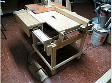 Lucas Contreras's Homemade table saw Serra Circular