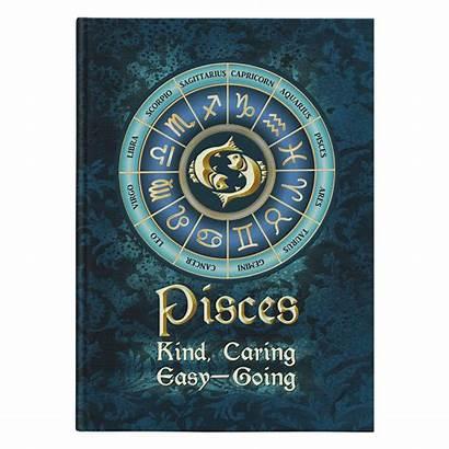 Pisces Zodiac Astrology Hardcover Journal Celticartstore Aquarius