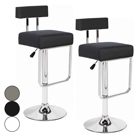 tabouret de bar simili cuir blanc tabouret bar simili cuir