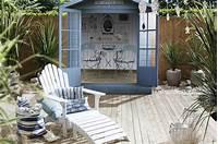 lovely seaside patio decor ideas
