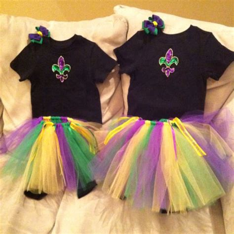 Girls Outfit and Mardi gras outfits on Pinterest