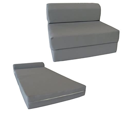 Gray Sleeper Chair Folding Foam Bed by 6 Quot Thick X 36 Quot Wide X 70 Quot Size Gray Sleeper