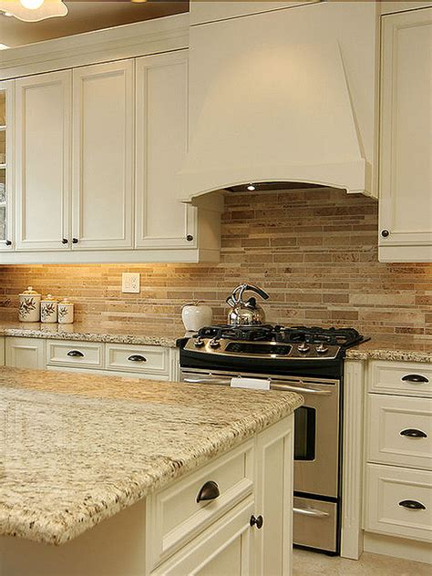 kitchen backsplash travertine travertine subway mix backsplash tile for kitchen bacskplash area