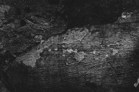 Dark Black And Grunge Wall Free Texture