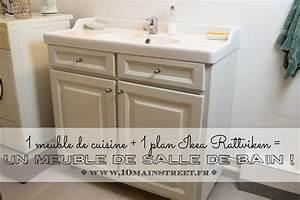 Plan De Meuble : un meuble de cuisine un plan ikea rattviken un meuble de salle de bain ~ Melissatoandfro.com Idées de Décoration