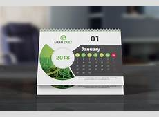 Desk Calendar 2018 ~ Stationery Templates ~ Creative Market