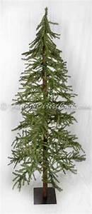 7 foot Alpine Skinny Tree Country Christmas Tree