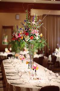Tall Colorful Centerpieces