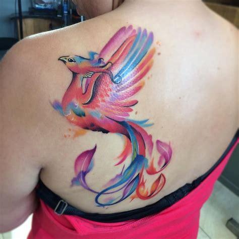 Tatouage Phoenix Femme  Signification, Emplacements Et