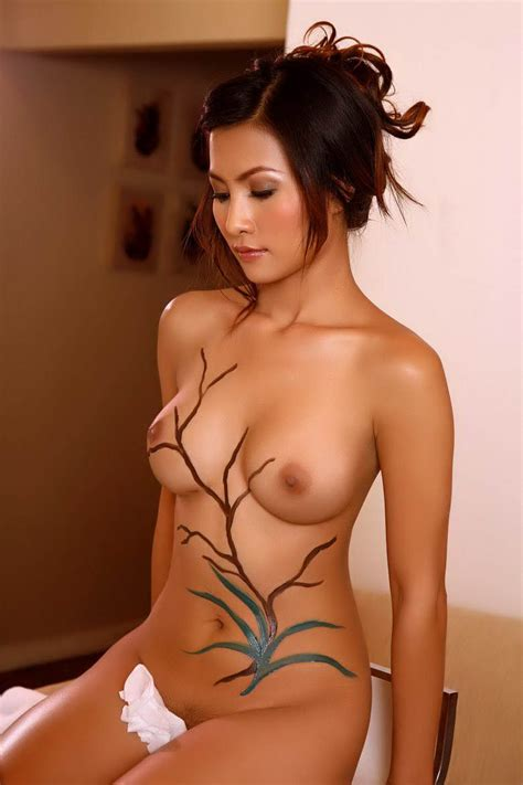 Tamil Sex Back Pose Girls Naked Erena Pine In Body Paint