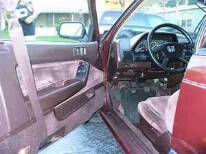 Find Used 1988 Honda Accord Lxi Hatchback 3