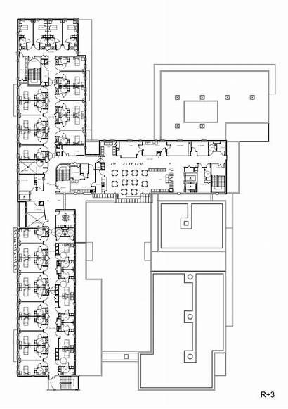 Plan Elderly Floor Establishment Hospital Plans Dependent