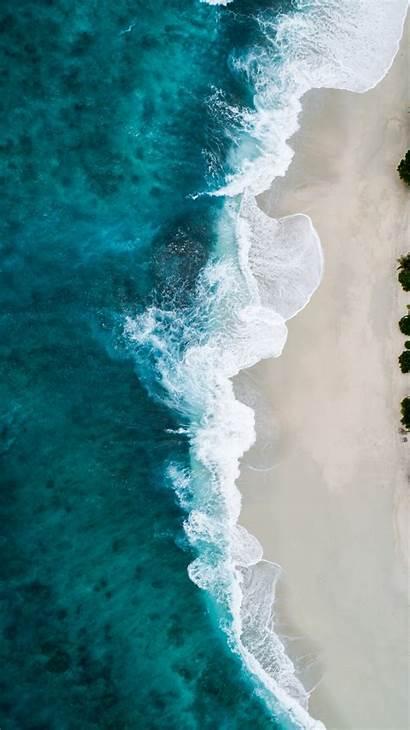 Sea Unsplash Aerial Wallpapers Water Shoreline