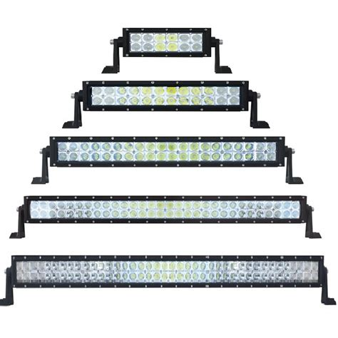 high power led row light bar in different sizes