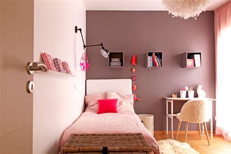 couleur de chambre pour fille une chambre de fille poudré et taupe