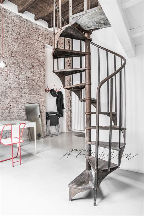 Incedible Loft Italy by Airbnb Loft In Milan Italy On Behance
