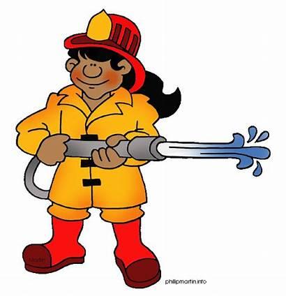 Clipart Clip Fireman Pekerjaan Kerja Cikgu Firefighter