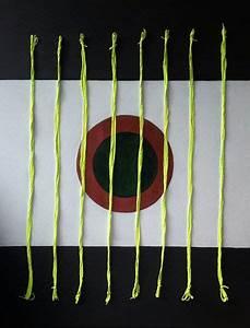 Leinwand Aufhängen Schnur : bild schwarz wei acrylmalerei kreis schnur von aquamarin bei kunstnet ~ Yasmunasinghe.com Haus und Dekorationen