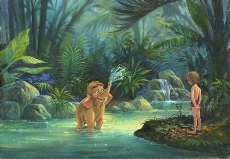 jungle book fantasy abstract background wallpapers