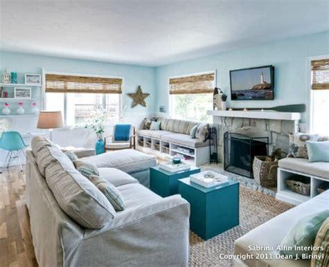 small coastal living room decor ideas  great style