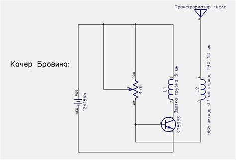Качер БРОВИНА аналог Трансформатора Тесла