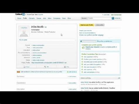adding a resume to linkedin social media tips