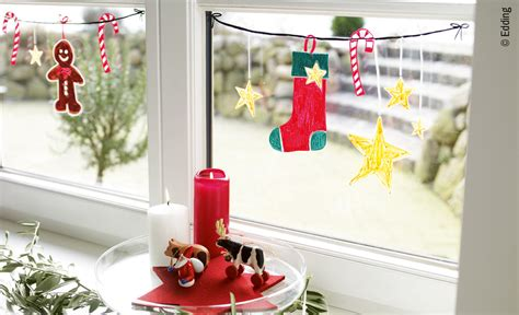 Weihnachtsdeko Für Fenster Mit Kindern Basteln by Basteln Weihnachten Selbst De