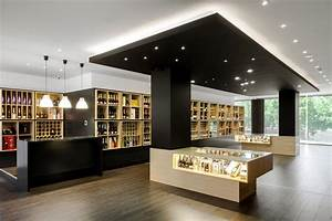 Wine Store Design in Portugal Stylishly Exhibiting Over A