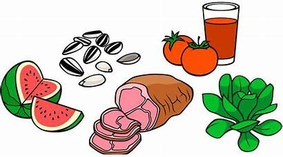Vitamins Thiamin Soluble Water Clipart Poor Foods