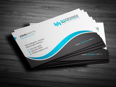 design business card carte de visite   concepts