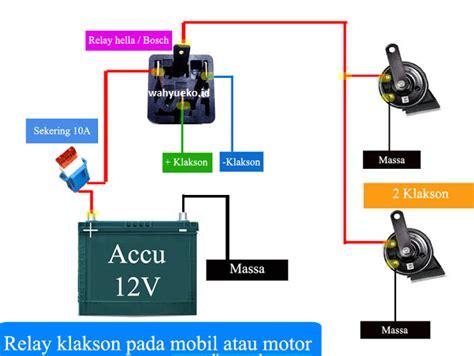 cara pasang relay klakson kesulitan jiman motors