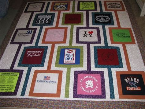 t shirt quilt designs 21 best quilt sashing ideas images on quilting