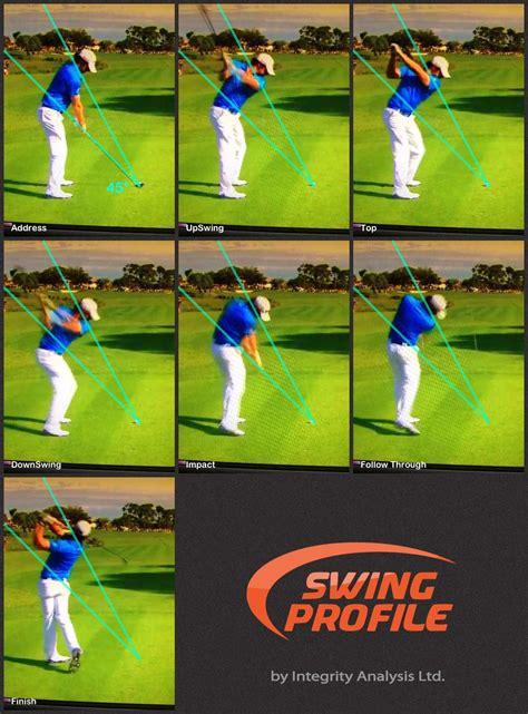 golf swing analysis golf apps swing analysis swingprofile swing profile