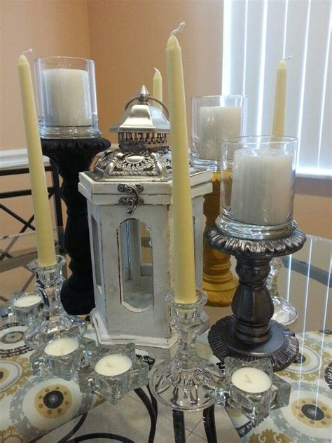 candle centerpieces for dining room table 10 best images about diy dining table centerpiece on