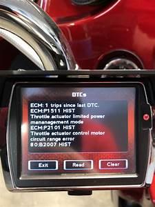 Throttle Actuator Trouble Codes - Help Please