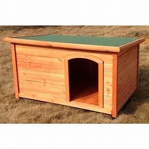 Niche Grand Chien Xxl : niche pour chien toit plat natura taille xl ~ Dailycaller-alerts.com Idées de Décoration