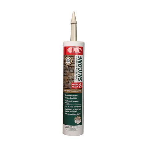 gray caulk shop dupont 9 8 oz light gray silicone specialty caulk at lowes com