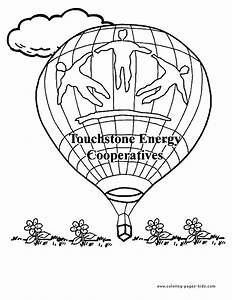 hot air balloon color pages free printable coloring With hotairschematic