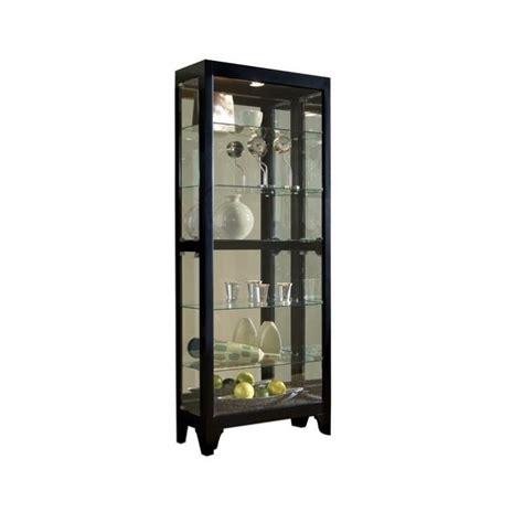 pulaski curio cabinet 21218 pulaski onyx curio cabinet 21218