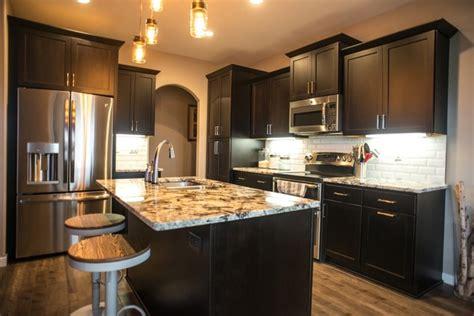 espresso kitchen cabinet granite white kitchen with pergamino and white 3592