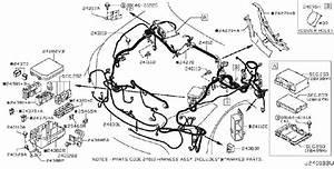 Infiniti M37 Cover Relay Box  Harn  Body  Egi