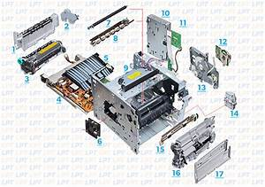 Parts Diagram 1 For Laserjet 4200