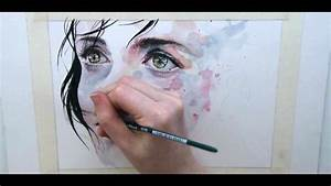 Just one in a thousand beautiful speed painting by agnes for A stunning watercolor speed painting by agnes cecile