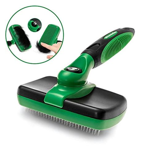 Grooming Tools For Matted Hair - k9konnection self cleaning slicker brush for dogs and cats