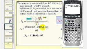 Formula For Annuity Payout Annuity Formula Part 2 Youtube