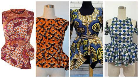 Beautiful Ankara Peplum Top Designs Perfect for